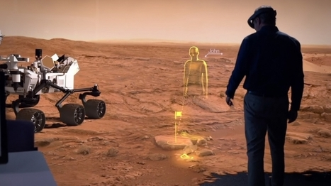 How Microsoft's HoloLens Could Boost the Race to Colonize Mars | Entrepreneur | 04/17/15 | FDW's Daily Scoops | Scoop.it