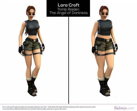 Lara Croft gets a normal body and she still kicks butt   cool stuff from research   Scoop.it
