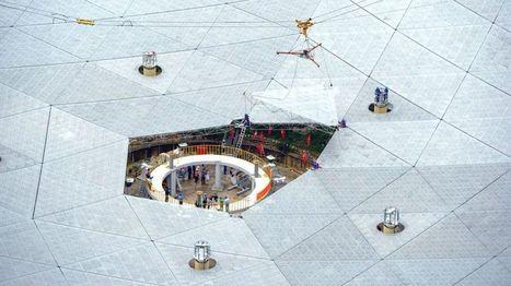 China fits final piece on world's largest radio telescope - BBC News | Jeff Morris | Scoop.it