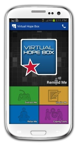 Virtual Hope Box Mobile App Grows in Popularity | Healthy Marriage Links and Clips | Scoop.it