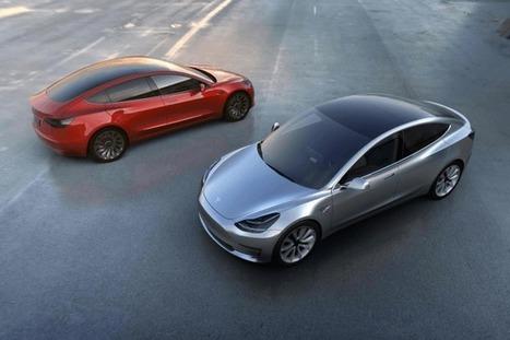 Tesla Model 3: already 137,000 orders   The Univers News - Latest Online News   Scoop.it