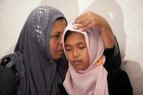 Indonésie : Raudhatul, 14 ans, retrouve ses parents dix ans après le tsunami - Monde - MYTF1News | Scoop Indonesia | Scoop.it