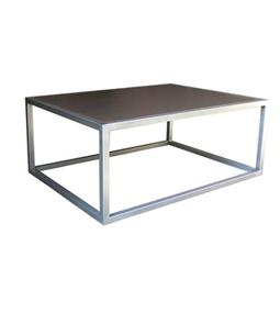 Dadra | Mesas de centro hierro forjado y madera a medida | MESA CENTRO CUBO PLANCHA BICOLOR | Mesa de centro  hierro y madera | Scoop.it