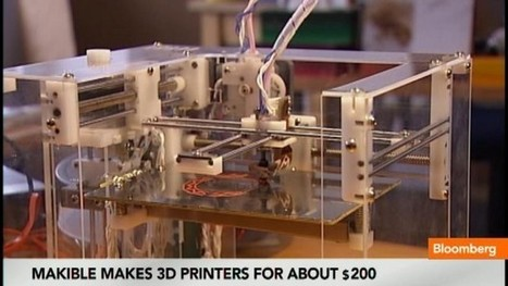 Inside the World's Cheapest 3D Printer: Video | Made Different | Scoop.it