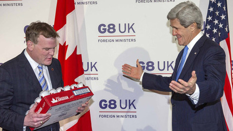 John Baird paie John Kerry en bière - Canoë | Politique fédérale-Canada | Scoop.it