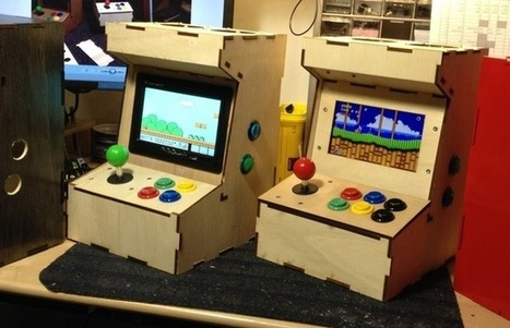 Porta-Pi Raspberry Pi Mini Arcade Cabinet (video) | Raspberry Pi | Scoop.it