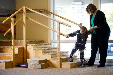 Now he can: Highland boy makes strides with special therapy - Daily Herald | Developmental Disabilities | Scoop.it
