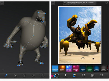 Autodesk 123D Creature App Brings Online 3D Printing To The iPad (video) | Geeky Gadgets | 3D printing in New york | Scoop.it