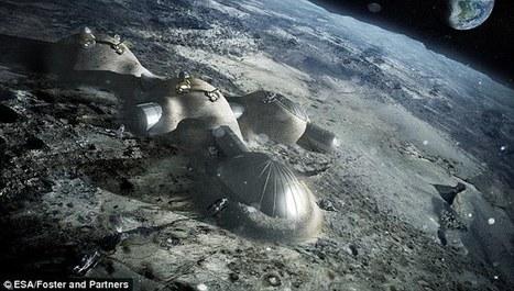 Europe's space boss reveals 'moon village' plans | Space Tourism | Scoop.it