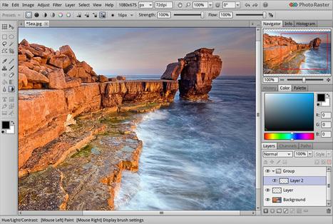 PhotoRaster: apre i battenti il primo programma online di fotoritocco professionale | Notizie Fotografiche dal Web | Scoop.it