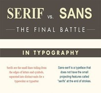 Serif vs Sans Infographic | E(ffective)-Learning - design that works | Scoop.it