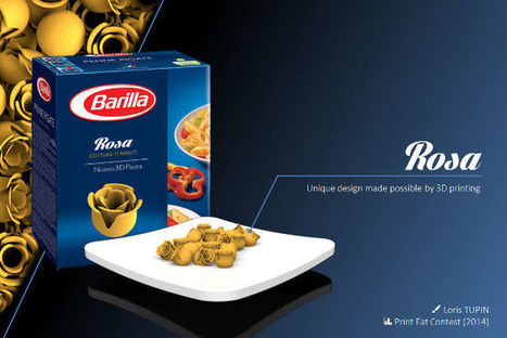 Quand l'impression 3D aide Barilla à réinventer la pasta | Design, industrie, architecture, innovation, etc. | Scoop.it