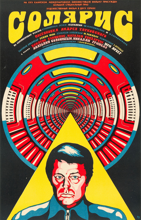"L'affiche originale russe de ""Solaris"" (1972) 