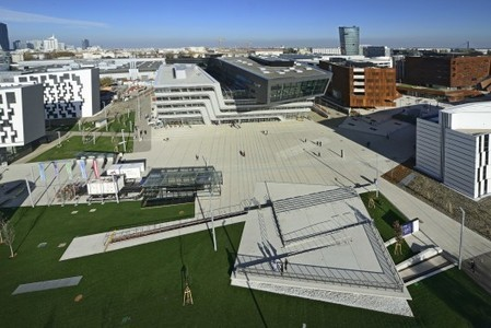 Austria: World-class architecture joins high-level sustainability at new Vienna university | GizMag.com | Avant-garde Art, Design & Rock 'n' Roll | Scoop.it