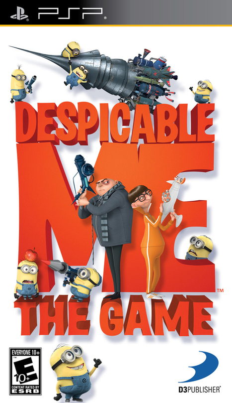 Despicable Me The Game Full Version Game PSP Free Download ~ Abomination | AbominationGames.net | Scoop.it
