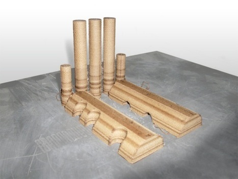 Laywood filament lets you 3D print with wood | Geek.com | New Civilizations | Scoop.it