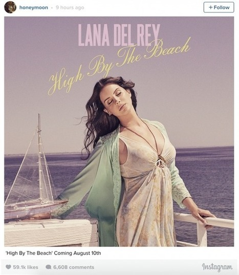 'High By The Beach,' Lana Del Rey's 'Honeymoon' Single Leaked - The Inquisitr | Lana Del Rey - Lizzy Grant | Scoop.it