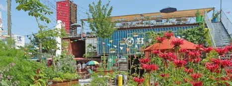 Container Park Craze: Hipsters Create Oases in Urban Wastelands - SPIEGEL ONLINE | Sustain Our Earth | Scoop.it