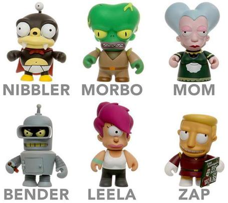Futurama Minis Are Irresistible | All Geeks | Scoop.it