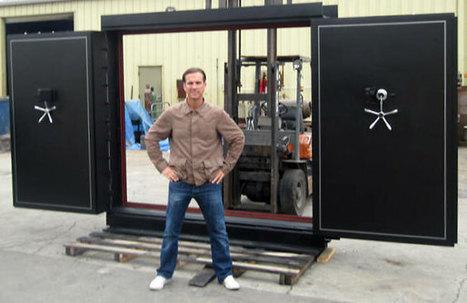 Custom Vault Doors | Gun Vault | Sportsman Vault Door Co. | Vault Doors | Scoop.it