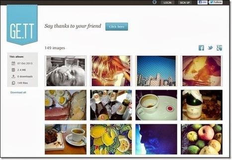 Site gratuits pour créer des galeries  et des album photos sans création de compte | Photographie numérique | Scoop.it