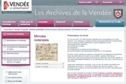 Notaires en ligne : la Vendée en poupe ! | Rhit Genealogie | Scoop.it