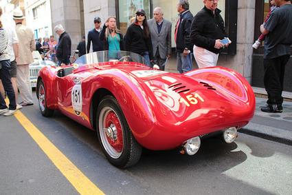 20140515 Italie Brescia - 1000 Miglia - Rovelli Fiat Testadoro 1100 spider Castagna -(1947)- | Voitures anciennes - Classic cars - Concept cars | Scoop.it