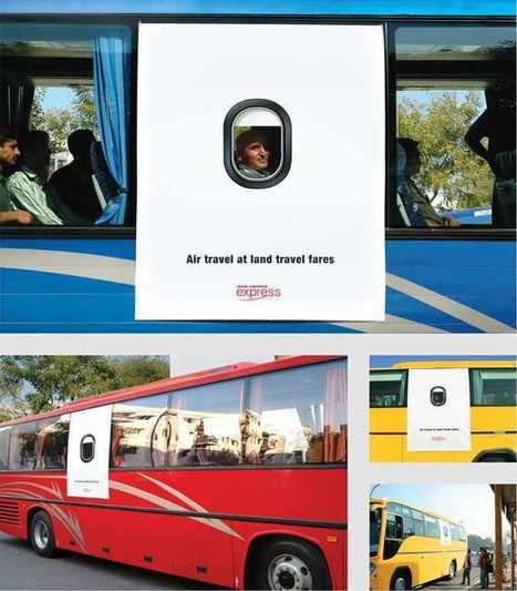10 publicités vraiment créatives sur des autobus  - Frédéric Therrien   Développez votre potentiel créatif   Scoop.it