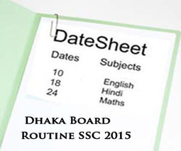Dhaka Board SSC Exams Routine 2015 Science & Arts | Education for Bangladeshi Student | Scoop.it