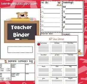 More Binder Tips for Organized Teachers | Organizational Ideas | Scoop.it