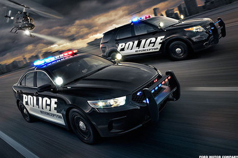 Ford's New Police Interceptor Is an Intimidating Car | Police & Law Enforcement News | Scoop.it