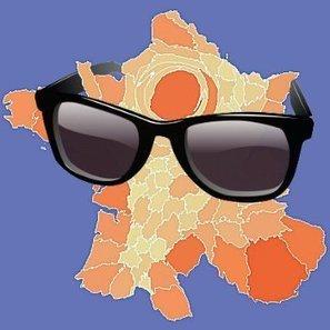 La carte de France du tourisme, moisparmois | Tourisme durable, eco-responsable | Scoop.it