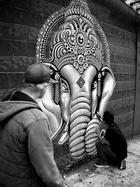 Street art by Cryptik #inspiration | Street Art and Artists | Scoop.it