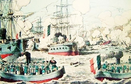 File:1800s painting France Qing naval battle Fuzhou.jpg - Wikimedia Commons | English Faction Year 10 | Scoop.it