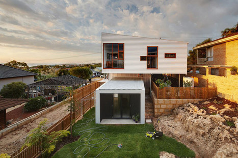 David Barr + Ross Brewin architects: suburban beach house, Australia | Arquitectura: Unifamiliars | Scoop.it