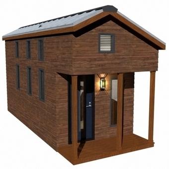 The McG Loft   Humble Homes   Small All Season Homes On Wheels   Scoop.it