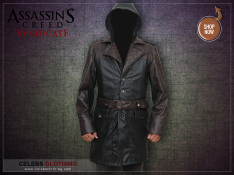 Cyber Monday Special - Jacob Frye Assassins Creed Syndicate Jacket Coat | celebrities Leather Jackets | Scoop.it