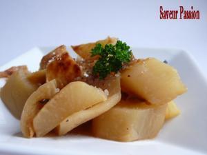 Radis noir sauté au parmesan   Radis noir... cuit !   Scoop.it