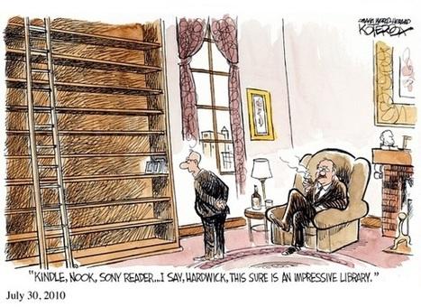 16 viñetas cómicas sobre los ebooks - Librópatas | Noticias de bibliotecas | Scoop.it