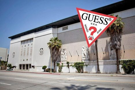Guess? Brothers Turning Beautiful Masonic Temple on Wilshire Into Their Own Private Art Museum | Literature. Creative writing | Scoop.it