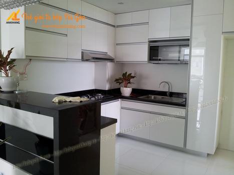 Tủ bếp anh BÌNH Sky Garden 3 - TBAK357. | Tủ bếp, Bếp An Khang tạo dấu ấn cho ngôi nhà VIỆT 0839798355 | Scoop.it