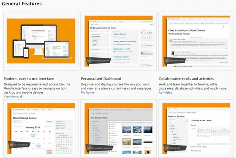 Great new Features Page at Moodle.org helps show what's possible | 21st Century Learning | Scoop.it