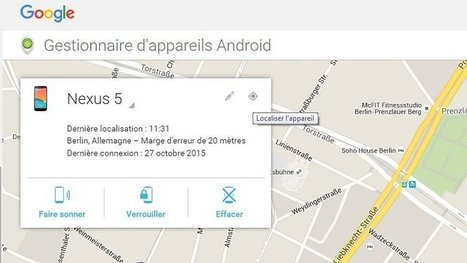 [Tuto] Comment utiliser Android Device Manager ? | Time to Learn | Scoop.it