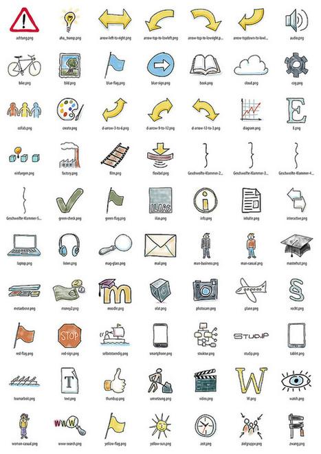 70 freie Illustrationen für E-Learning-Materialien | Technology Enhanced Learning in Teacher Education | Scoop.it