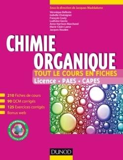 Chimie organique : tout le cours en fiches | Nouveautés juillet 2013 | Scoop.it