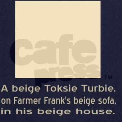 Beige Toksie Turbie Hooded Sweatshirt on CafePress.com | CafePress Designs Via Flamin Cat Designs And Friends | Scoop.it