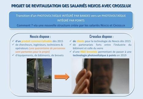 Nexcis : la filiale photovoltaïque abandonnée par EDF lutte pour sa survie | Damien CADOUX | Scoop.it