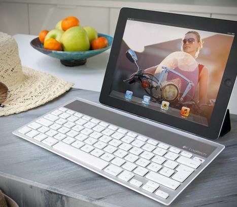 Logitech Wireless Solar Powered Keyboard | Digital-News on Scoop.it today | Scoop.it