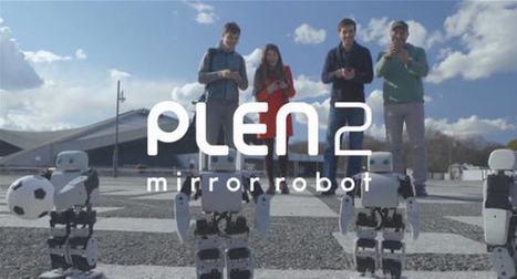 The PLEN2: first ever printable humanoid | Stock News Desk | Scoop.it