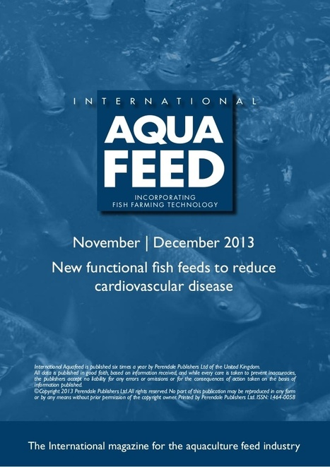 New functional fish feeds to reduce cardiovascular disease | Global Aquaculture News & Events | Scoop.it